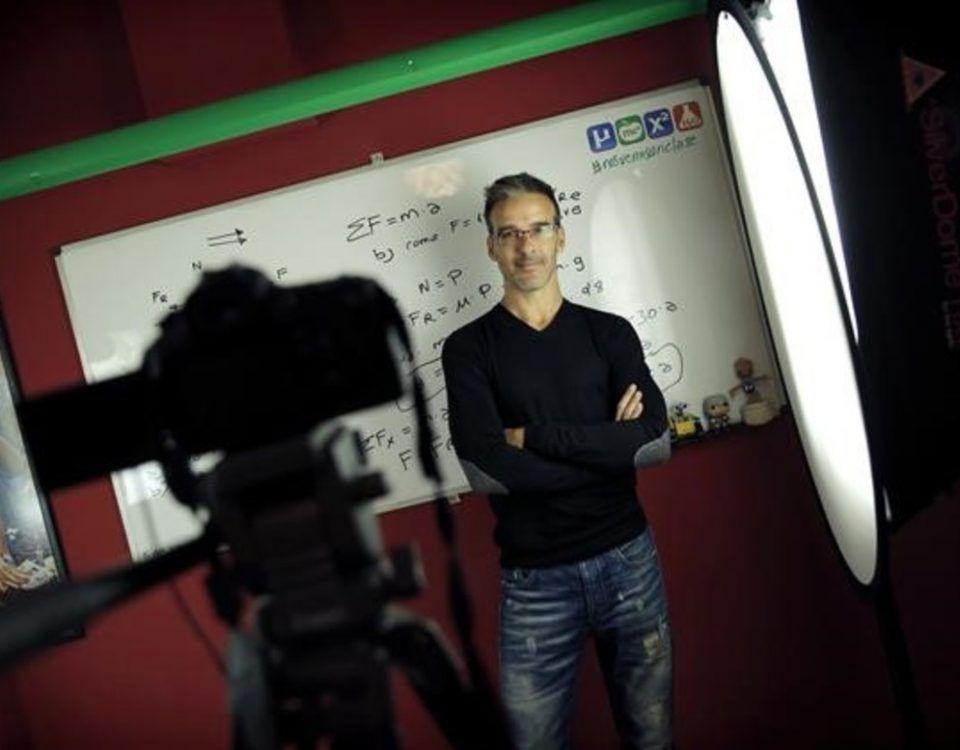 MADRID  08 09 2016   David Calle  de Unicoos  profesor Youtuber   FOTO  JOSE LUIS ROCA