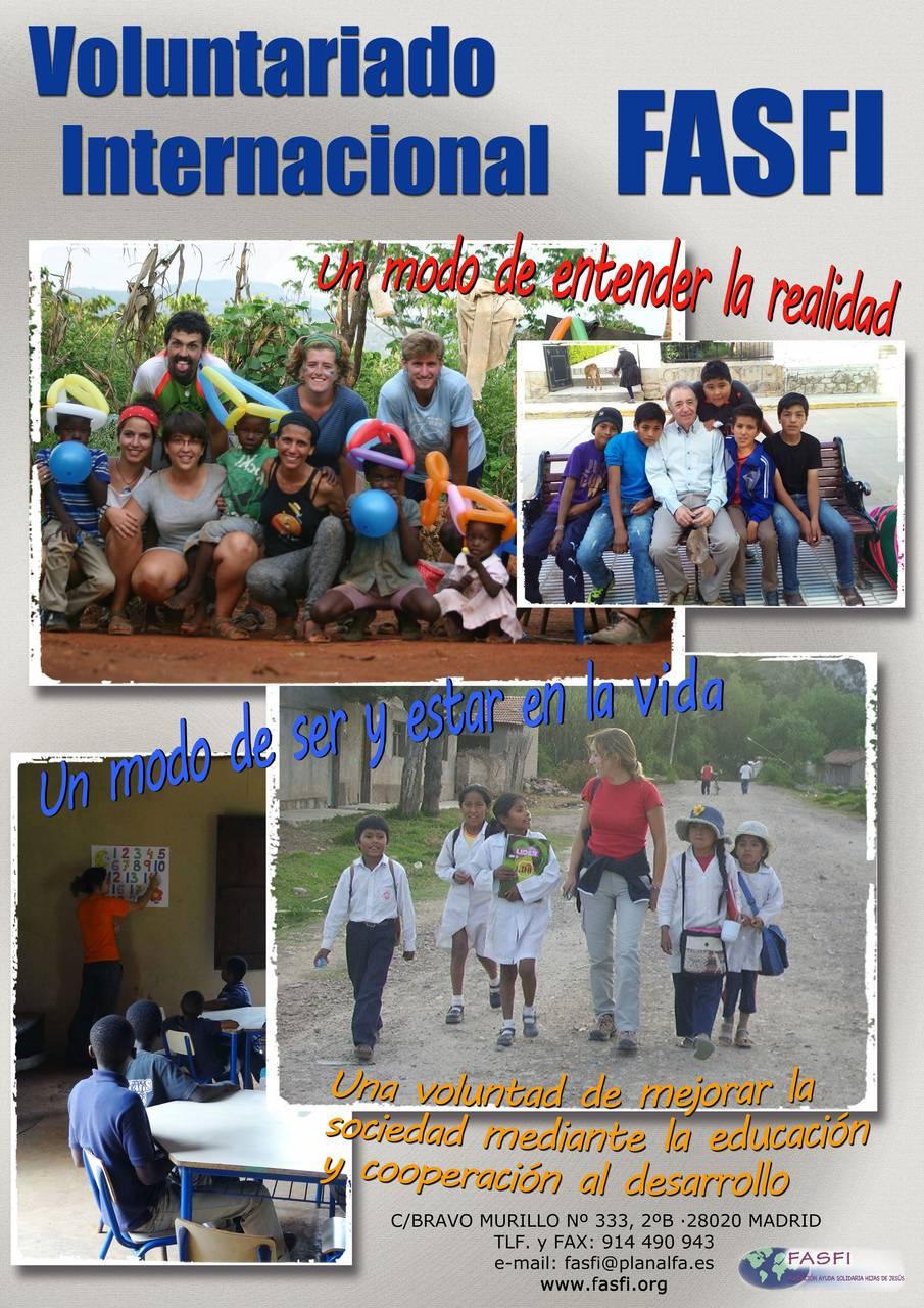 Voluntariado internacional fasfi 2017 vivirfi - Voluntariado madrid comedores sociales ...