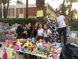 mercadillo solidario 2016- Colegio Santa María